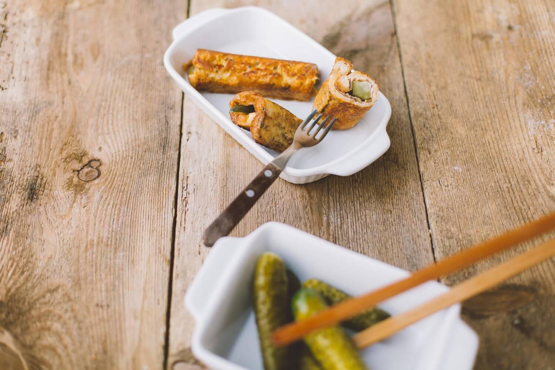 Przepisy na karnawał: Nadziewane roladki z boczkiem i serem