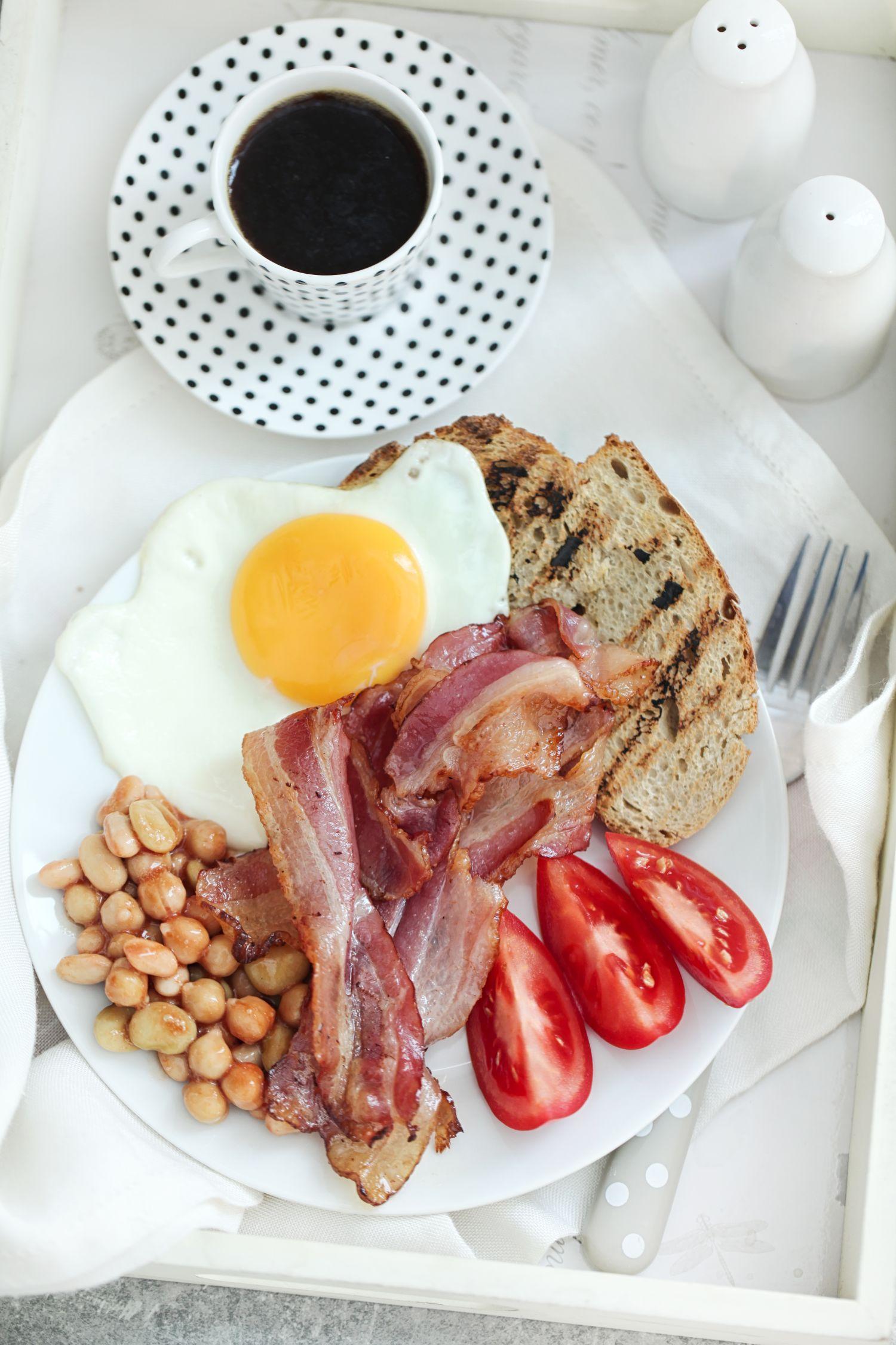 English breakfast, czyli jajecznica po angielsku